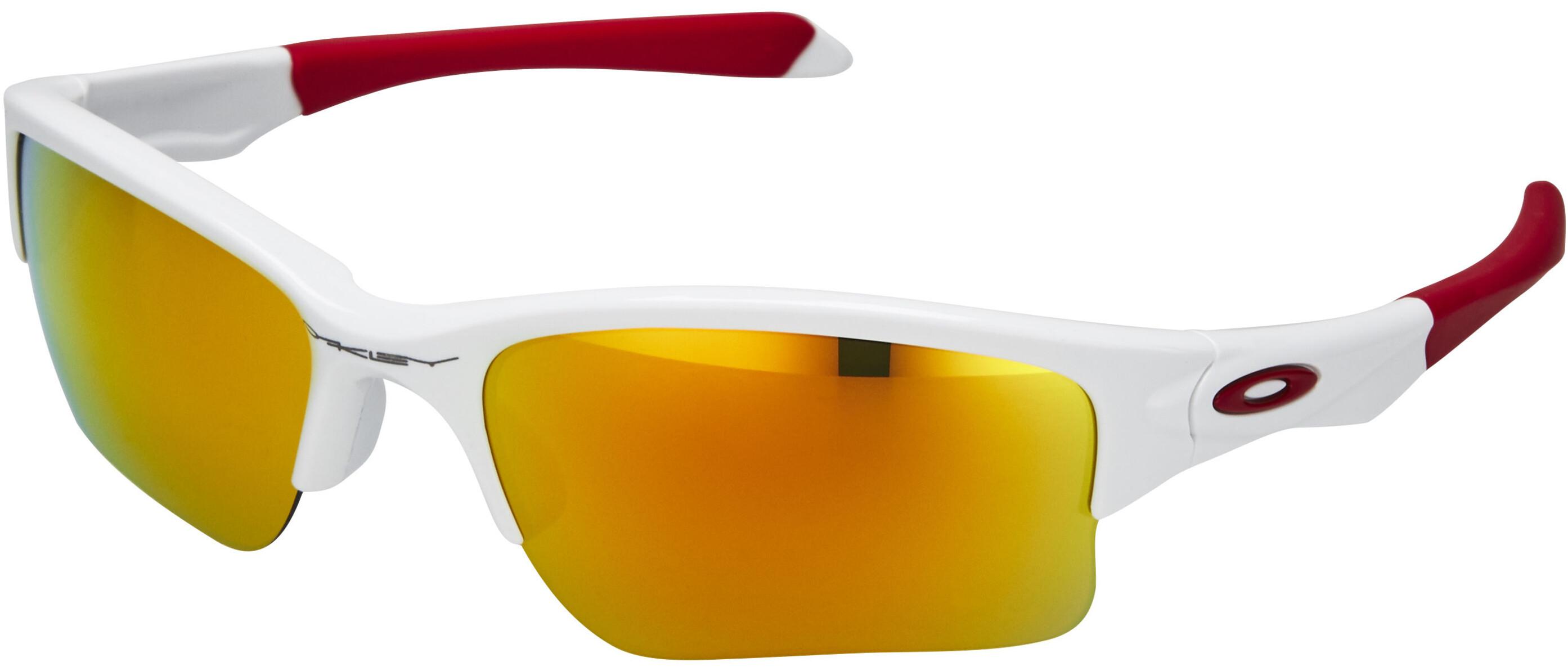 c1542b3376df50 Oakley Quarter Jacket - Lunettes cyclisme Enfant - blanc - Boutique ...